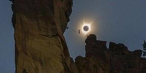 Tüm Dünyanın Gözlerini Kamaştıran Güneş Tutulmasında Yakalanmış 33 Efsane Fotoğraf