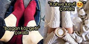 Kaçığım Çorap Gibi Kış Gününde! Çorap Modellerine Göre Yapılmış 13 Karakter Analizi