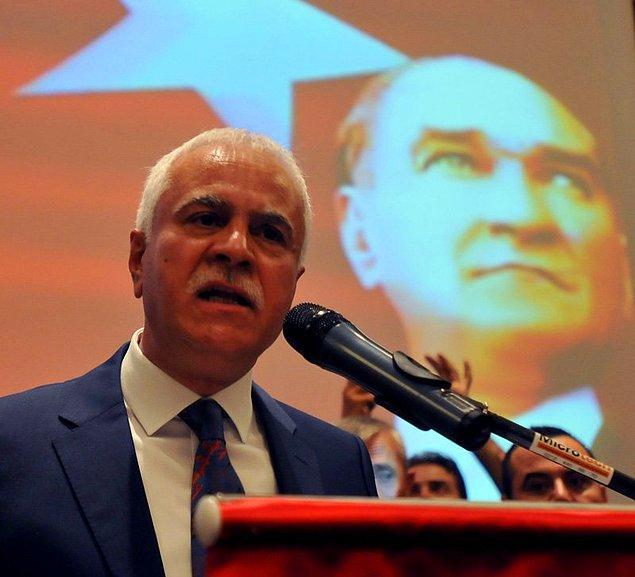 """MHP'den ayrılık konusuna da değinen Aydın, """"Buna mecbur kaldım. Çünkü MHP, AKP'nin içinde eriyecek"""" dedi."""