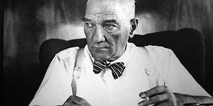 Atatürk'ün El Yazısıyla Kaleme Aldığı, Daha Önce Hiç Görmediğiniz Notlar ve Belgeler