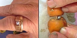 Aşka Saygısı Olan Bir Sebze! 13 Yıldır Kayıp Olan Nişan Yüzüğü Tarlada Bir Havuçtan Çıktı