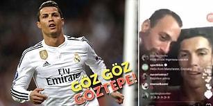 İnternet Muazzam Bir Yer! Ronaldo'nun Göztepe Tezahüratı Yapması Twitter'da Mizahla Karşılandı