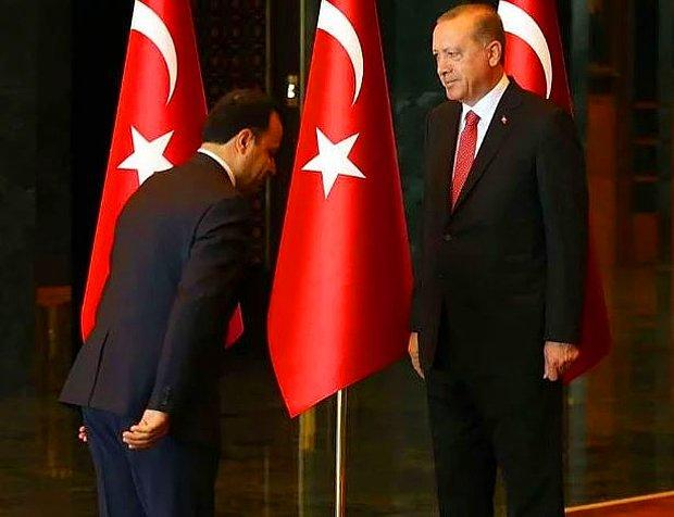 AYM Başkanı'nın Erdoğan Karşısındaki Duruşu Sosyal Medyanın Gündeminde