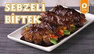 Yumuşacık Etin Arasına Tazecik Sebzeler Doldurduk: Sebzeli Biftek Nasıl Yapılır?