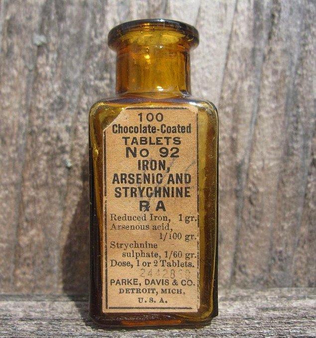 8. Şeker hastalığı için kullanılan arsenik