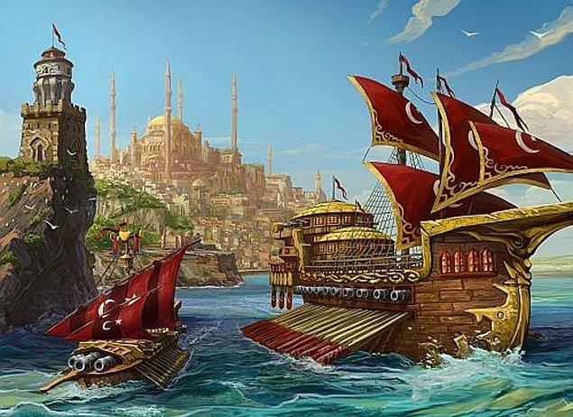 4. Türk tarihinin ilk donanmasını oluşturan komutan kimdir?
