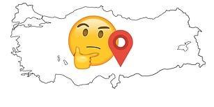 Türkiye Haritasında İşaretli Bölgenin Hangi Şehir Olduğunu Bilebilecek misin?