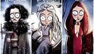 Game of Thrones Karakterlerini Tim Burton Tarzıyla Yorumlayan Sanatçıdan Birbirinden Güzel 12 Çalışma