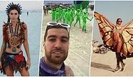 Gelenek Kaldığı Yerden Devam Ediyor! Burning Man Festivaline Bu Yıl da Ünlüler Akın Etti! 🤖