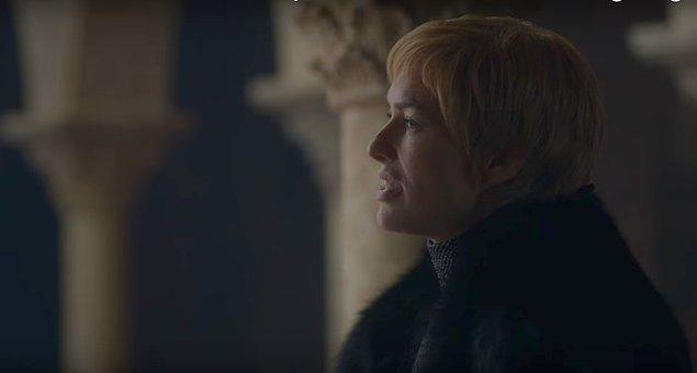 Bütüüüüüün bunlara ek olarak Cersei de kazık attığı için ve ortada bir ittifak olmadığı için Tyrion yerin iki kat dibine girmek isteyebilir.