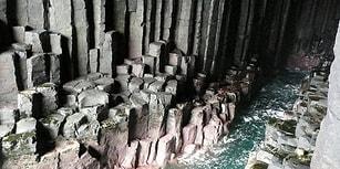 İskoçya Sahillerinde Kayaların Arasında Gizlenmiş Geometrik Bir Gizem: Fingal Mağarası