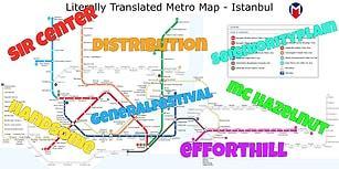 İstanbul Metro Haritasından Shakespeare'i Mezarında Ters Döndürecek 17 Durak İsmi Çevirisi
