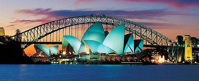 """2. Gidince """"dünyanın öbür ucundayım"""" diye hava atabileceğiniz Avustralya."""