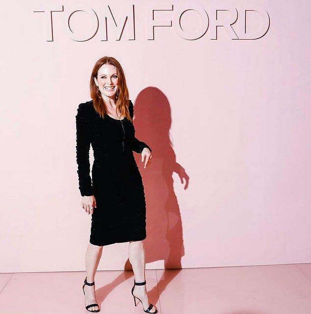 Oscar'a beş kez aday olmuş Julianne Moore, A Single Man filminde yönetmeni olan Tom Ford için ayrı bir özen gösteriyordu.