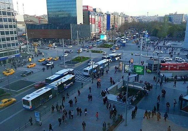 Ankara'da bir yakınının evine yerleşmiş