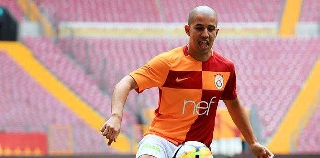 4. Sofiane Feghouli ➡️ Galatasaray
