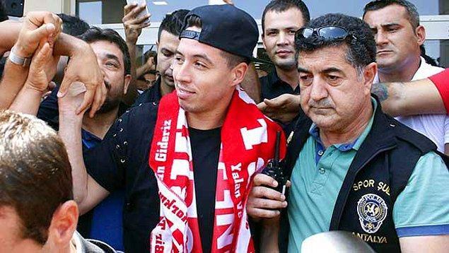 2. Samir Nasri ➡️ Antalyaspor