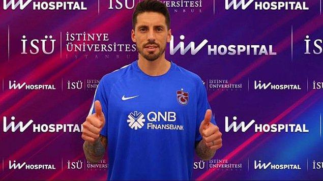 1. Jose Sosa ➡️ Trabzonspor