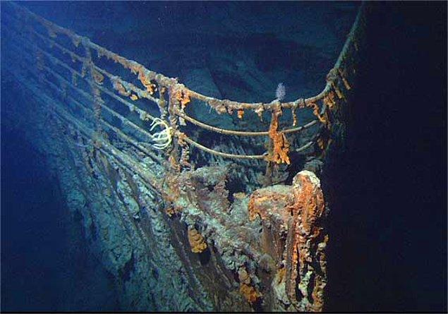 9. Pas yiyen bakteri türleri, 20 yıl içinde Titanik enkazını tüketmiş olacak.