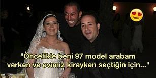Tolga Çevik'in Eşine Evlilik Yıldönümü İçin Yazdığı Gözlerden Kalpler Çıkartan Duygusal Not