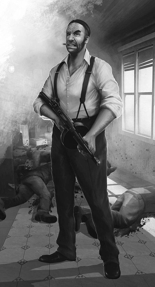 Sandor Clegane diğer bir deyişle ''Tazı''. Küfür etmek bir insana ancak bu kadar yakışır. Sal önden bunu mafya savaşlarında fedai maşallah.