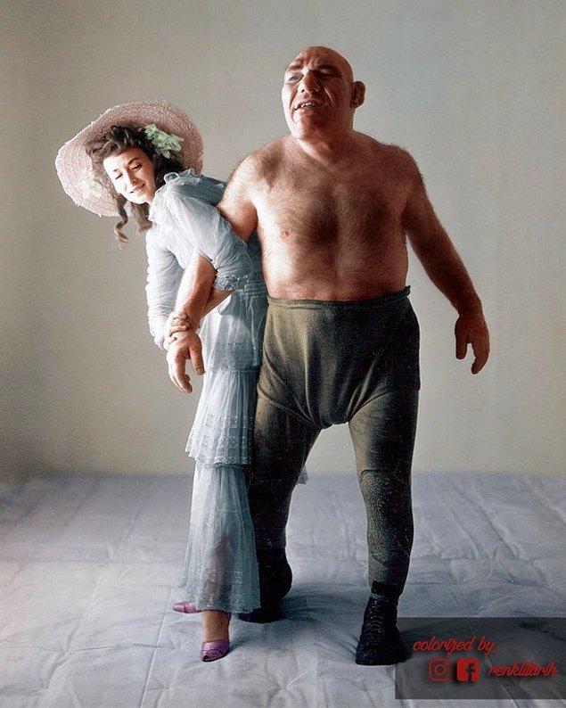 Maurice Tillet ve Dorian Leigh