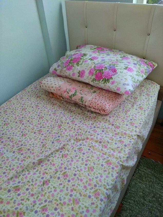 17. Yatılı misafir yatak toplama itemi