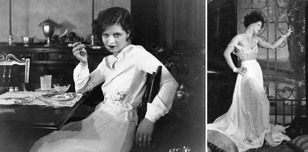 18. Clara Bow'ın diyeti günde yalnızca 500 kaloriyle sınırlıydı ve kilo vermek için sımsıkı giysilerle gezerdi. 😅