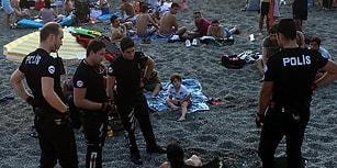 Zonguldak'ta Bir Plaj: Polis Bira İçen İki Kadını Gözaltına Alıp Para Cezası Kesti