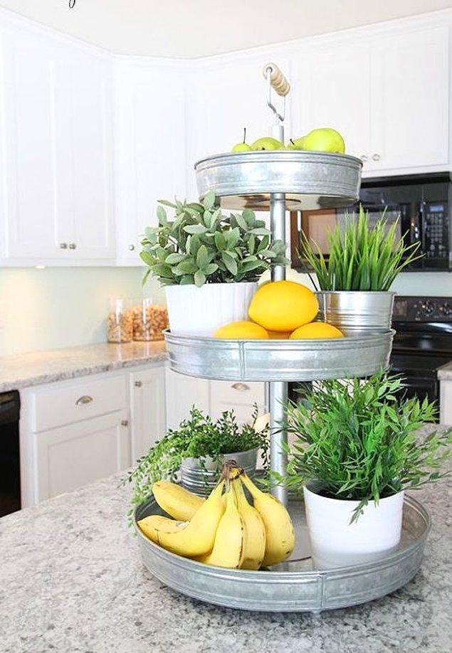 13. Mutfaktaki boşlukları unuttuk sanmayın! Meyve, sebze ve bitkilerinizle yeni alanlar yaratmak mümkün.