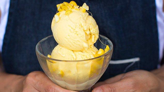 10. Bir de Kaliforniya'dan haberimiz var: Mısırlı Dondurma