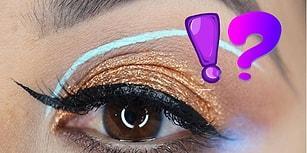 Makyaj Sanatçılarından Yepyeni Bir Moda Akımı: Ters Kuyruklu Eyeliner!