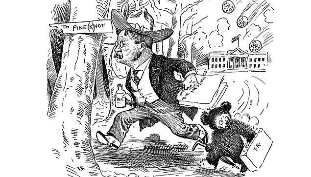 Olayın Washington Post gazetesinde bir karikatüre konu olmasından sonra, hikâyeden etkilenen Rus göçmen Morris Michtom, eşi Rose'a peluştan bir ayı yapmasını söyler. Washington Post'da yayımlanan Berryman'ın çizdiği karikatürle birlikte bu oyuncak ayıyı Brooklyn'de sahibi olduğu dükkânın vitrinine yerleştirir.