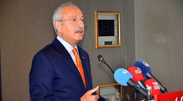 Kılıçdaroğlu: 'Bugün yaşananlar demokrasi adına yüz karası'