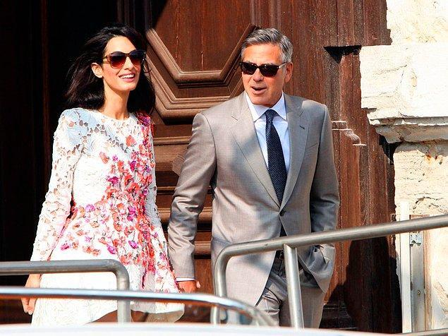 Bu ilişki en çok George Clooney'ye yaradı esasında. Politik duruşunu zaten biliyorduk ama ileride başkanlığa gidebilecek kadar siyasetin içinde olmayı planlıyormuş diye de konuşuluyor.