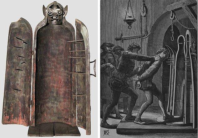 4. Çivili tabutlar ne Orta Çağ'da icat edilmişti, ne de korkunç birer işkence aletiydi.