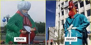 Yaşadıkları Şehirleri Komik Bir Görselle Anlatarak Çokça Güldüren 20 Takipçimiz