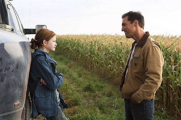 3. Interstellar'da gördüğümüz mısır tarlası film için gerçekten ekilip büyütüldü. Çekimler bittiğinde ise mahsül satıldı ve prodüksiyon para kazandı.