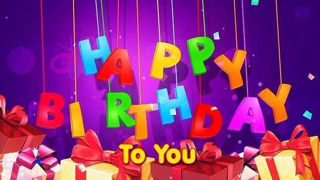 15. Happy Birthday (Mutlu Yıllar Sana) eserinin hak sahibi olduğunu iddia eden (ama aslında olmayan) bir grup yıllar boyunca senede 2 milyon dolara yakın telif geliri elde etti.