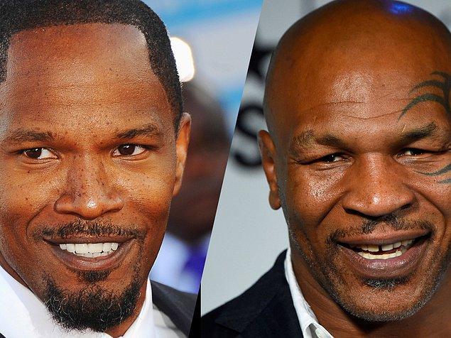 5. Mike Tyson'ı anlatacak filmde Tyson'ı Jamie Foxx canlandıracak.