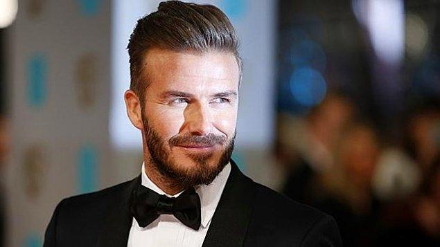 David Beckham çıktı!