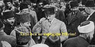 Mustafa Kemal Atatürk'ün, Sivas Kongresinden Önce Annesi Zübeyde Hanım'a Yolladığı Telgraf