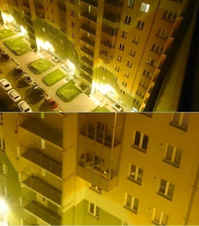 2. O balkona nasıl geldiğini asla bilemeyeceğimiz bu araba.