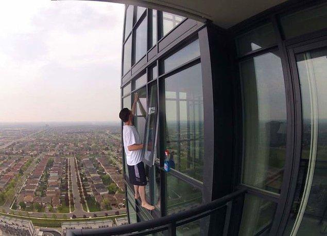 6. Pencerelerin temizliği mi hayatınız mı?