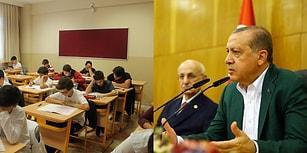 TEOG Tartışmalarında İlk Alternatif Erdoğan'dan: 'Liseler Kendi Sınavlarını Yapar'