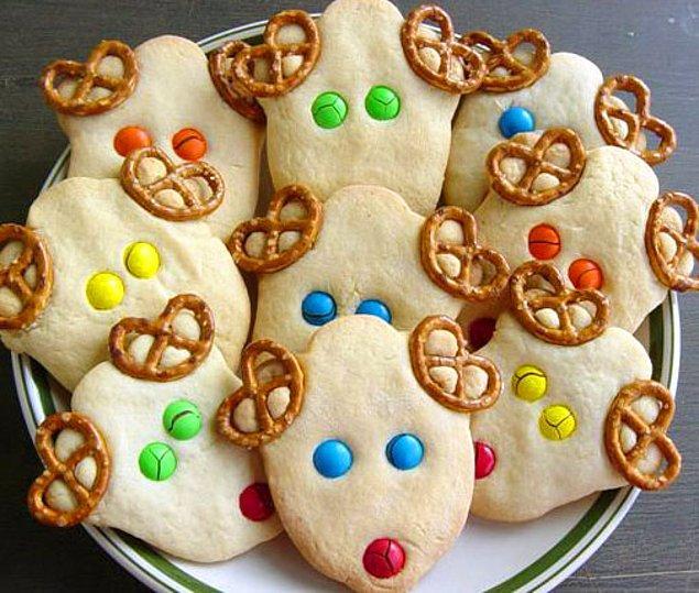 4. Bu tatlı kurabiyeleri çocuklar paylaşmak istemeyecek.