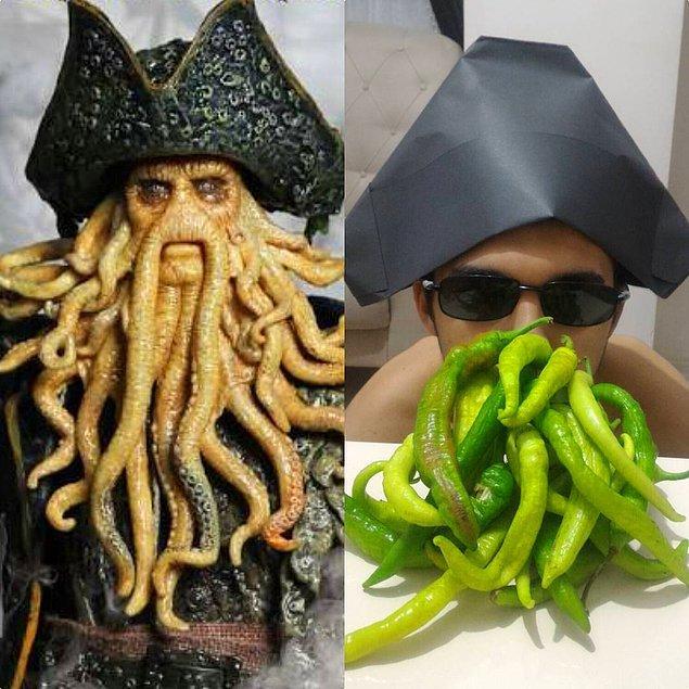 13. Davy Jones