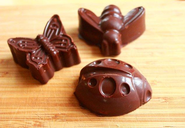 11. Kendi çikolataınızı kendini yapın!