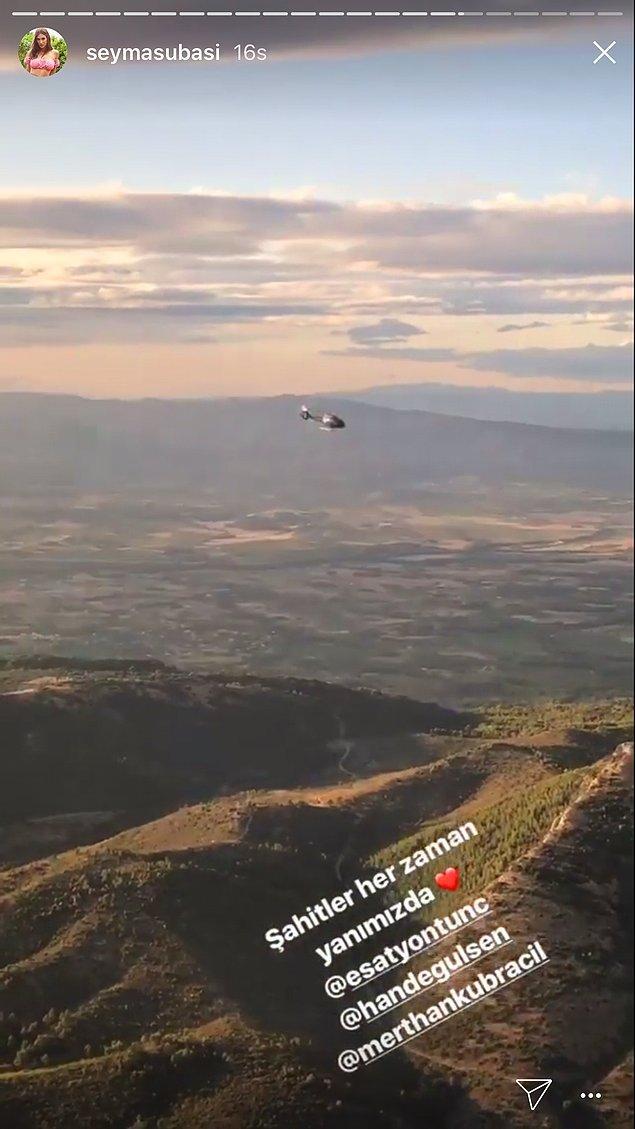Helikopterlerine bindiler ve konsolosluğa doğru yol aldılar.