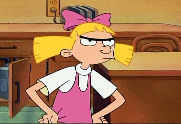 Tıpkı Hey Arnold'daki Helga Pataki gibi ikonik kaş yapısıyla da unutulmazlardan biri...